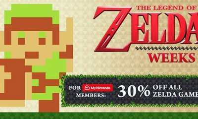 The Legend of Zelda Weeks Sale