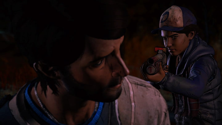 The Walking Dead - A New Frontier Clementine and Javier