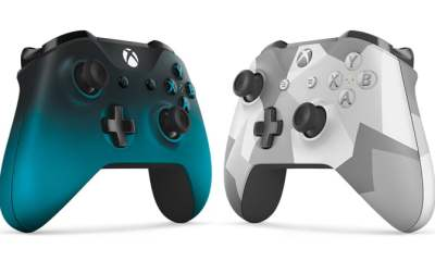 Xbox One Controller – Ocean Shadow and Winter Forces