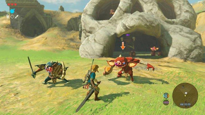 The Legend of Zelda: Breath of the WIld - Combat