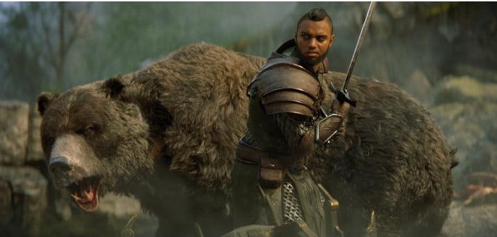 The Elder Scrolls Online Morrowind war bear