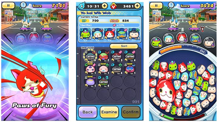 Yo-Kai Watch Wibble Wobble - Screenshots
