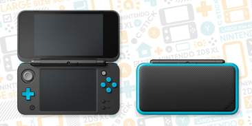 New Nintendo 2DS XL - Black/Turquoise