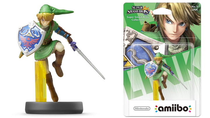 Smash Link Amiibo