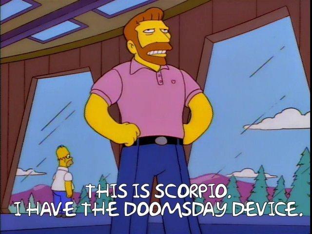 Hank Scorpio doomsday device