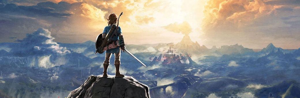 The Legend of Zelda header