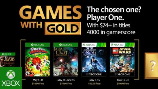 Xbox Games with Gold - May 2016