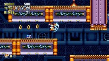 Sonic Mania - Flying Battery Zone screenshot