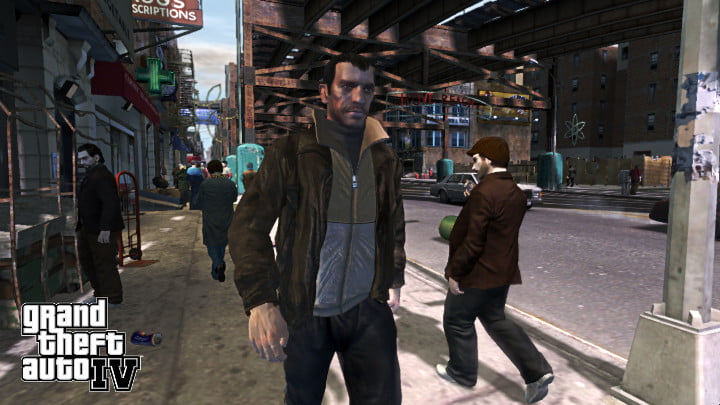 Grand Theft Auto 4 screenshot