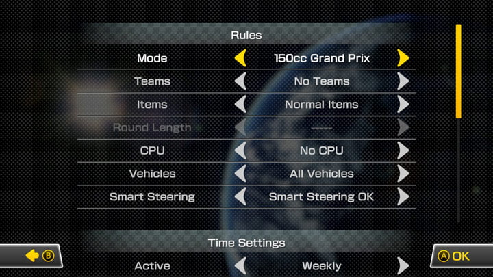 Mario Kart 8 Deluxe Online Tournaments