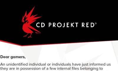 CD Projekt Red Cyberpunk 2077 blackmail