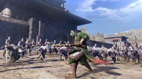 Dynasty Warriors 9 - combat
