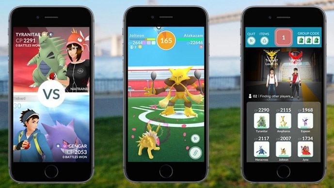 Pokémon Go - co-op multiplayer