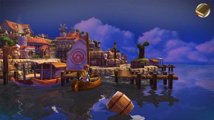 Oceanhorn - Sailing