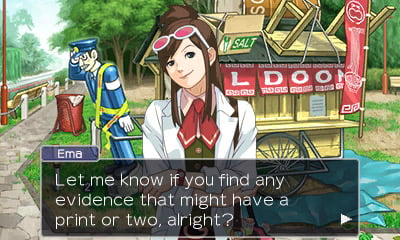 Apollo Justice: Ace Attorney - Nintendo 3DS screenshot