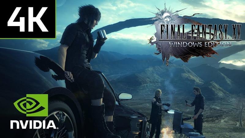 Watch Final Fantasy XV running in 4K at 60FPS