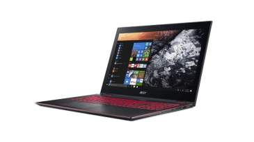 Acer Nitro 5 Spin in laptop more