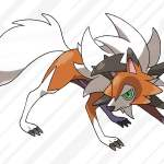 Dusk Form Lycanroc - Pokemon