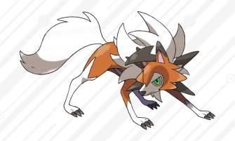 Dusk Form Lycanroc - Pokemon