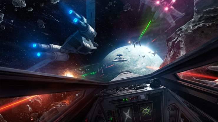 Star Wars Battlefront Rogue One: X-wing VR Mission