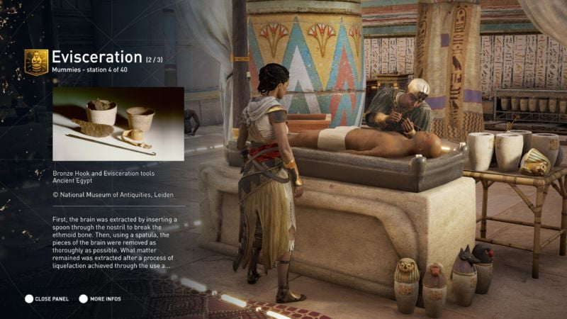 Assassin's Creed: Origins educational mode