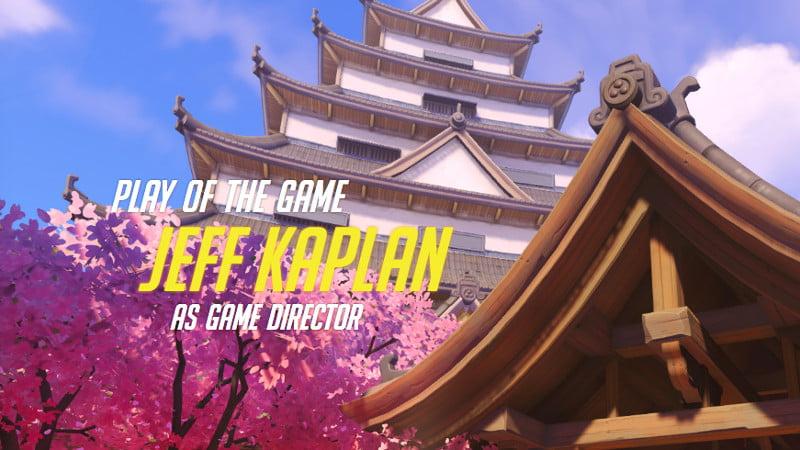Jeff Kaplan Overwatch abuse development