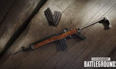PUBG Mini-14 rifle