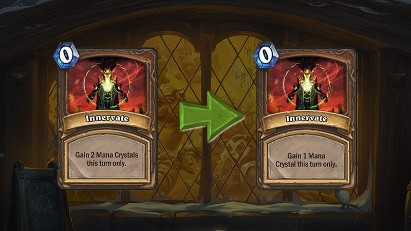 Hearthstone is nerfing some of its oldest cards