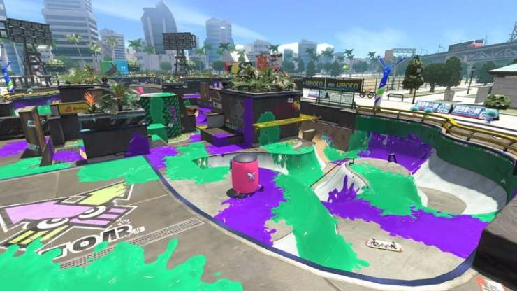Blackbelly Skatepark Splatoon 2