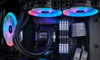 Corsair LL Series RGB fans