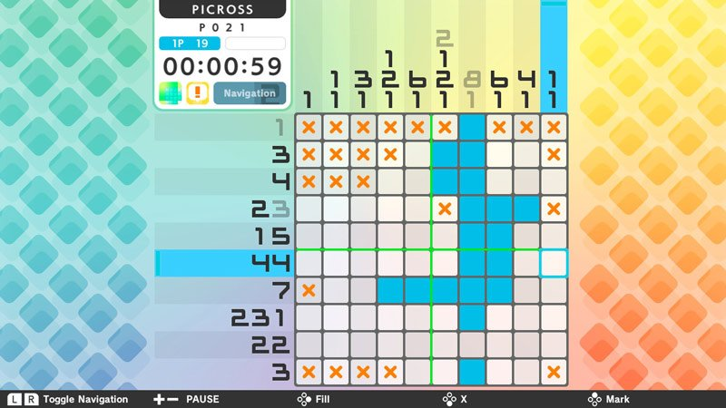 Picross S - Nintendo Switch screenshot