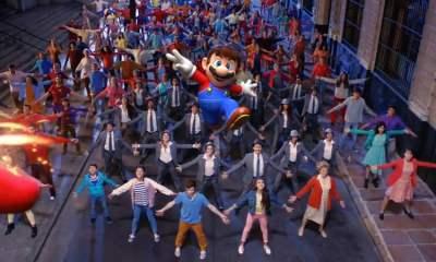 Super Mario Odyssey music video