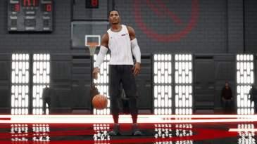 NBA Live 18 Star Wars light jersey