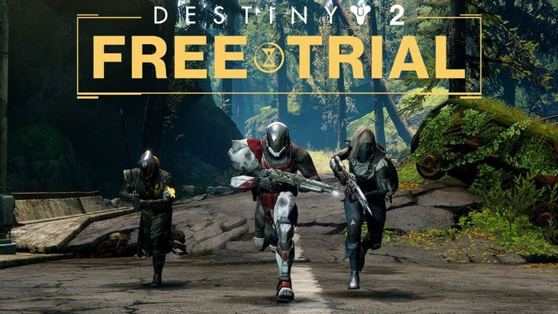 Destiny 2 Free Trial Today