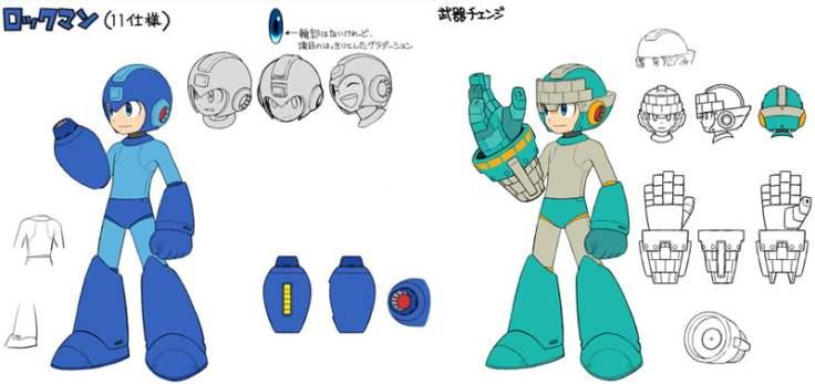 Mega Man 11 concept art