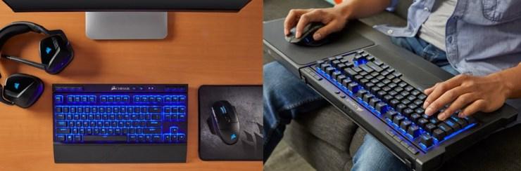 Corsair wireless gaming set