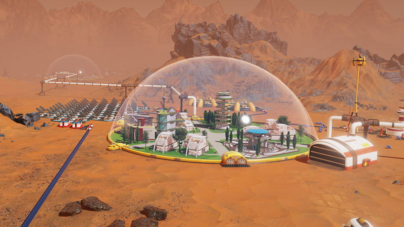 Surviving Mars Gameplay: 11 Minutes of Mining, Meteorites and Colonisation