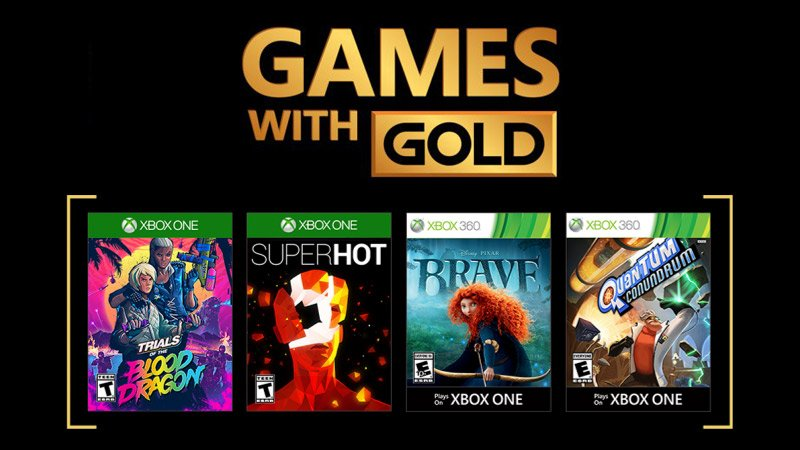 Xbox Games With Gold for March Revealed