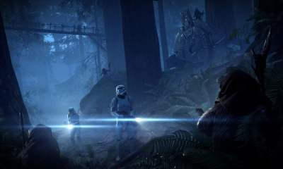 battlefront ii night on endor