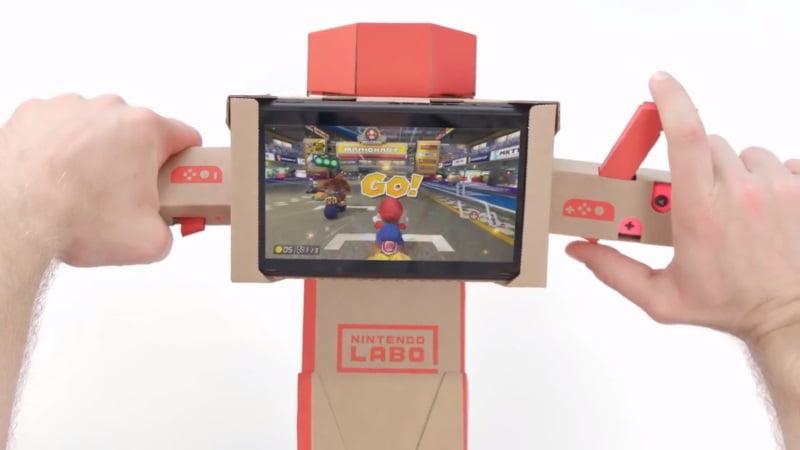 Nintendo Labo Mario Kart 8 Deluxe