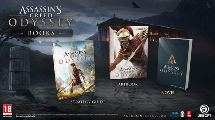 Assassins Creed Odyssey books