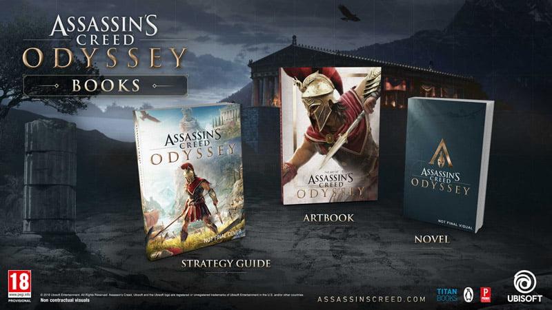Assassins Creed Odyssey books