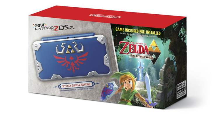 Hylian Shield 2DS