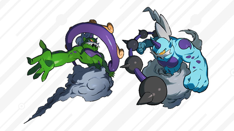 Target Exclusive Event Thunderus and Tornadus Pokemon Code