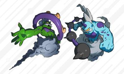 Pokemon Thundurus and Tornadus