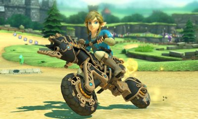Mario Kart 8 x Breath of the Wild
