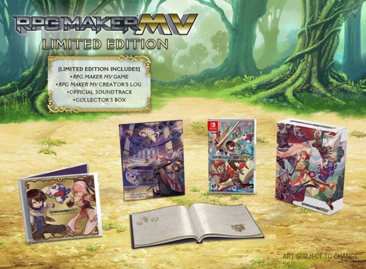 RPG Maker MV Limited Edition