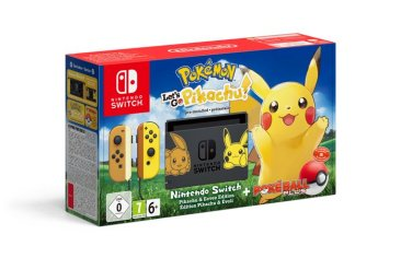 Pokémon Let's Go Pikachu! Nintendo Switch bundle