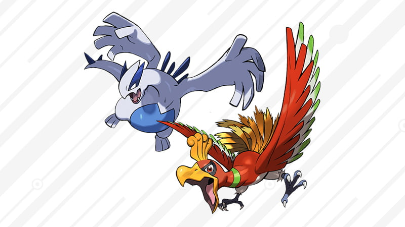 How to download Legendary Pokémon Ho-Oh and Lugia