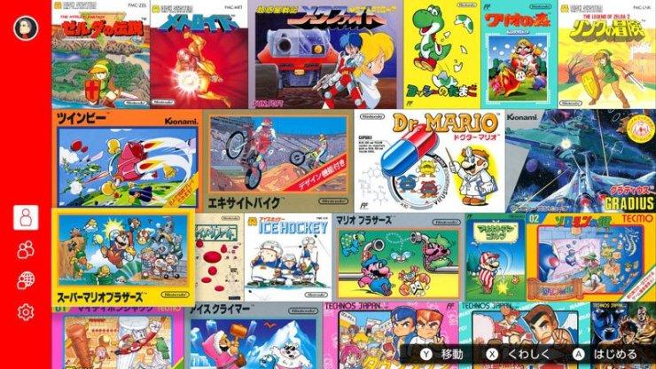 Famicom games - Nintendo Switch Online